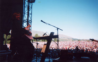 Ricky Phillips in New Zealand with Credence Clearwater Revisited